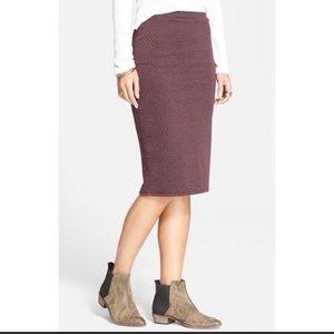 Free People Pencil Skirt, NWOT
